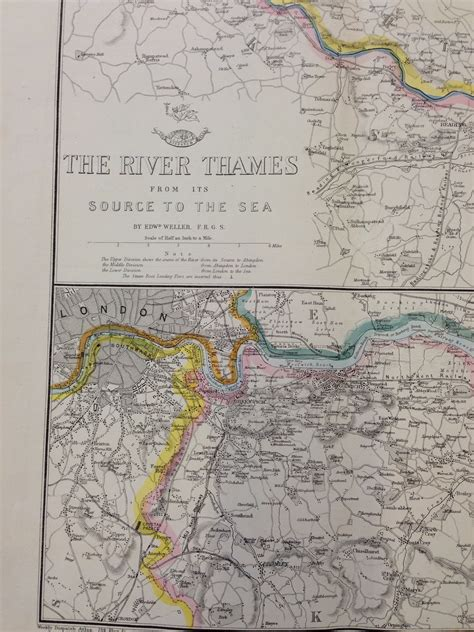 river thames map from source to sea bodleian map room blog items of interest from the