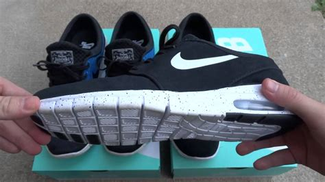 nike sb janoski max photo blue and suede review on