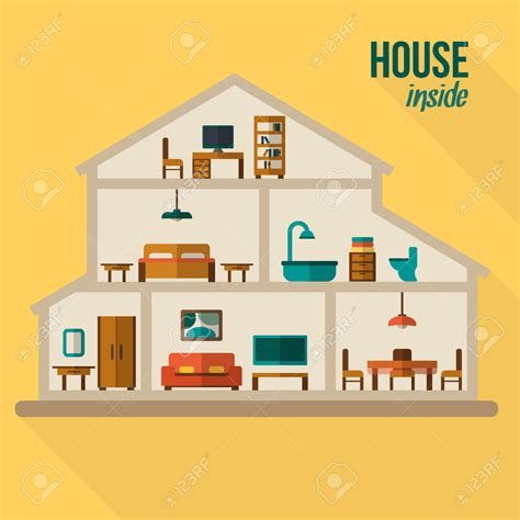 modern home design vector interior designs clipart inside house pencil and in