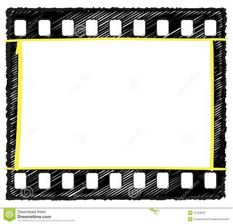 sketchbook copy selection 35mm frame sketch selection markup stock illustration