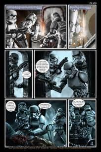 Comic Book Wall Murals star wars meets aliens in this fantastic fan comic