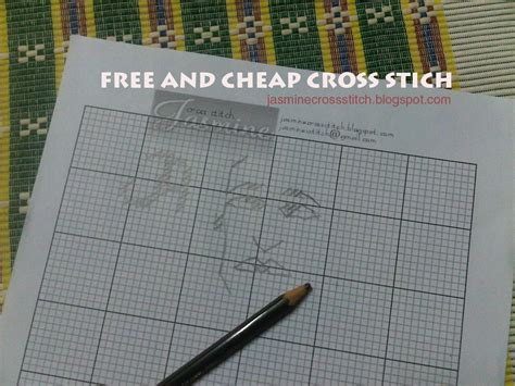 free cross stitch pattern maker from photo simple pattern maker jasmine cross stitch