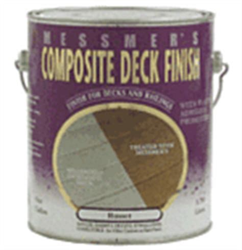 messmers cdf composite deck finish