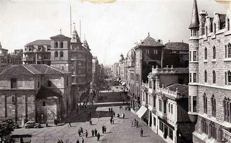 fotos antiguas leon capital le 243 n fotos antiguas plaza de santo domingo y avda de