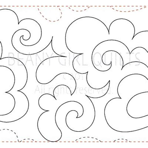 Free Motion Quilting Clouds by 17 Best Ideas About Paper Clouds On Paper
