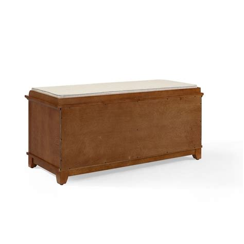 oak entry bench adler entryway bench in warm oak finish