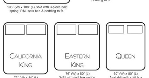 alaskan king bed size always handy to know mattress sizes when thinking about