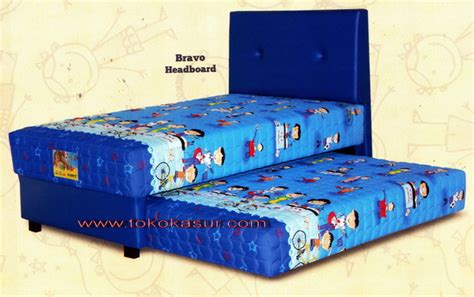 2in1 Uniland 120x200 2in1 bravo biru toko kasur bed murah simpati
