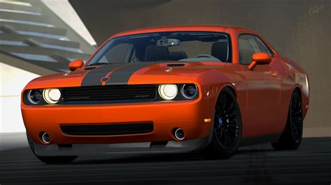 old car manuals online 2008 dodge challenger instrument cluster 2008 dodge challenger srt8 gran turismo 6 by vertualissimo on