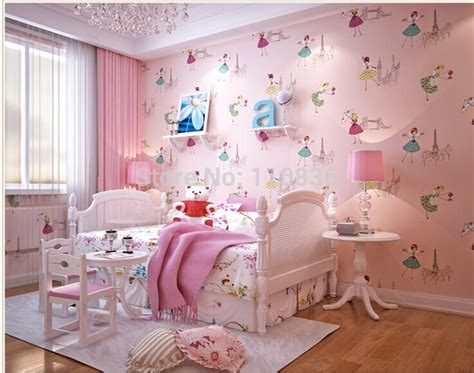 princess wallpaper for bedroom aliexpress com buy child real princess real wallpaper