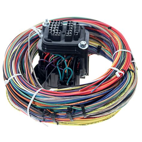 car harness 20104 mustang painless performance universal car wiring harness 18 circuit cj