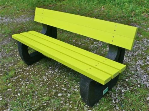 plastic benches uk colne rainbow bench garden bench multicoloured recycled plastic education