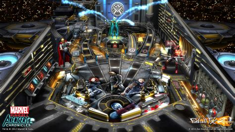 Exclusive first look at the avengers pinball table features www