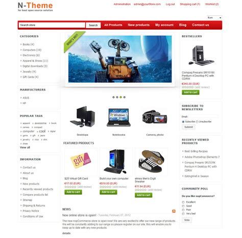 nopcommerce 2 70 gifts theme nopcommerce themes