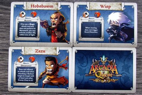 Arcadia Quest Characters Aeric review arcadia quest day and joined into one deskovehry recenze deskov 253 ch