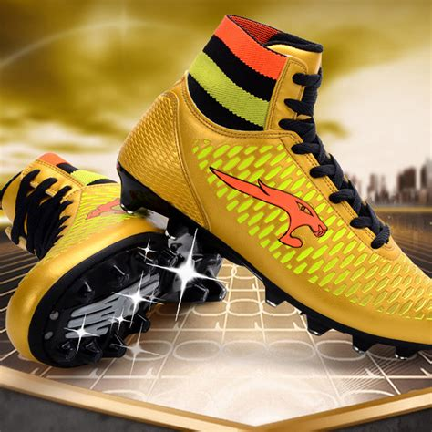 top football shoes 2017 new s high top spike soccer shoes trainer cleats