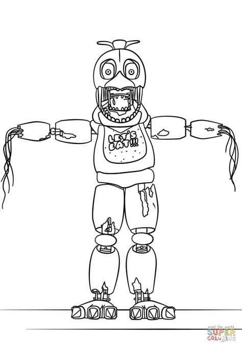 Fnaf 7 Coloring Pages by Fnaf Coloring Pages Part 7 Free Resource For Teaching