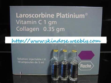 Laroscorbine Platinium Vitamin C Collagen laroscorbine platinium skindose