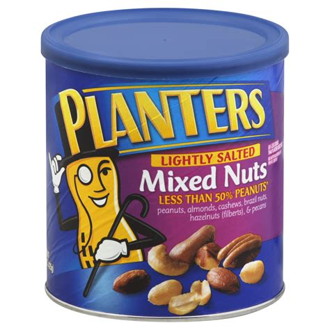 Are Planters Mixed Nuts Gluten Free by Planters 174 Lightly Salted Mixed Nuts 15 Oz