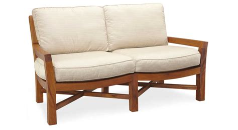circle furniture teak outdoor loveseat outdoor