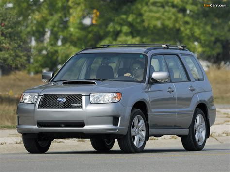 subaru forester us subaru forester sports us spec sg 2005 08 pictures