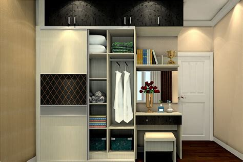 Study Table Design For Bedroom by 3d Wardrobe Dressing Table And Door