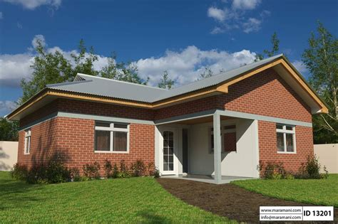 Three Bedroom House Id 13204 Simple 3 Bedroom House Plan Id 13201 House Plans By