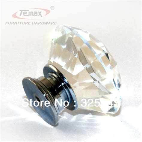 Gatehouse Knobs And Pulls by 5pcs 30mm Zinc Alloy Clear Glass Knobs And Handles Cabinet Dresser Pulls Gate Knob