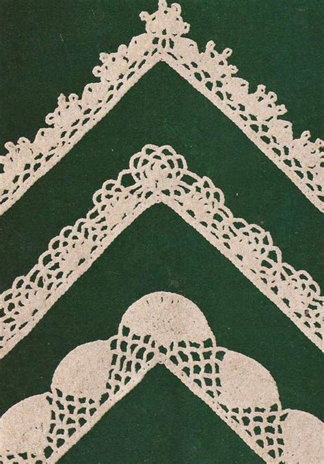 cenefas para manteles patr 243 n 399 encajes y puntillas para manteles a crochet