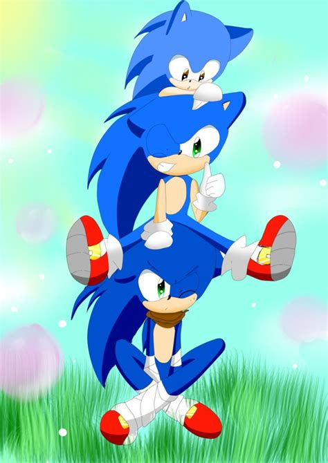 sonic day happy b day sonic by fangirl on deviantart