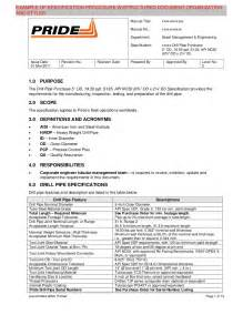 Technical Specification Template by Technical Writing Exles