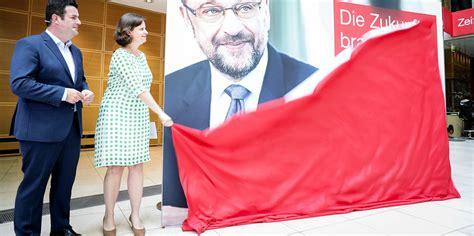 Plakat Heil Schulz by Wahlkfplakate Der Spd In Der Wohlf 252 Hloase Taz De