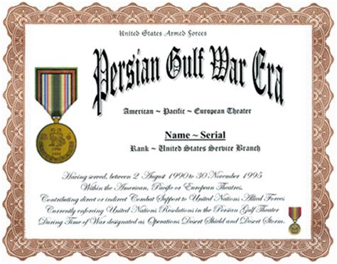 cold war veterans seek recognition for their service persian gulf war era service appreciation recognition