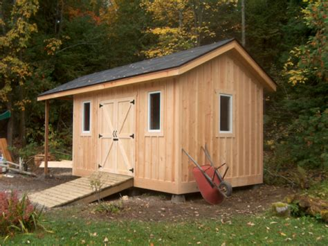 The Tool Shed Baton by Pine Board And Batten Shed Homebuilding