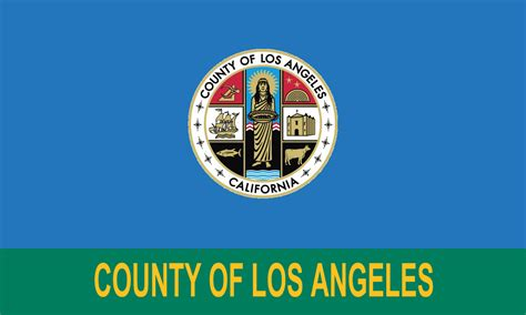 Los Angeles County Records 2016 File Flag Of Los Angeles County California 2014 2016