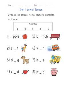 short vowel sounds worksheet englishlinx com board