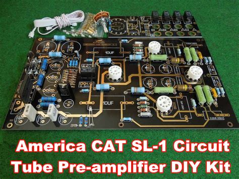 L Diy Kit by Douk Audio Usa Cat Sl 1 Pre Hifi Stereo