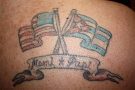 cuba tattoo cuban tattoos cuban american flag picture at