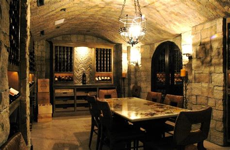 Wine Cellar Light Fixtures - wine cellars of the french tradition rustic wine cellar los angeles by the french tradition