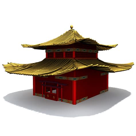 mings house ming dynasty house 3d model obj fbx ma mb dae cgtrader com