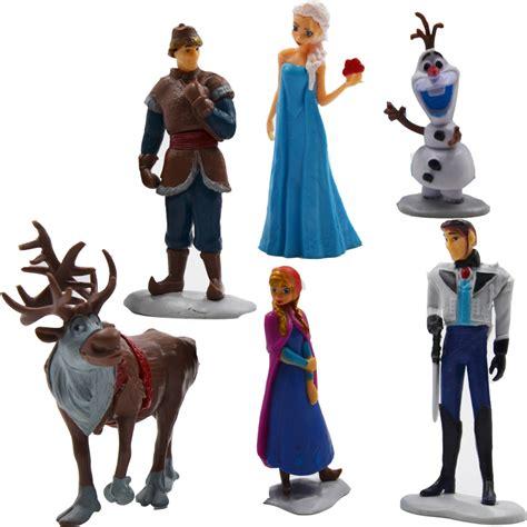 Figure 1 Set 6 Pcs aliexpress buy disney toys frozen toys 6 pcs princess and prince elas olaf sets