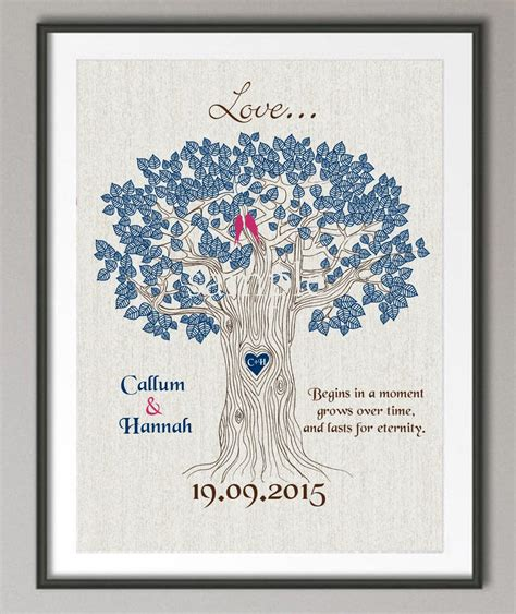 Wedding Anniversary Quotes For Family by Couples Wedding Anniversary Gift Family Tree Quote Wall