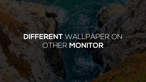 different backgrounds on dual monitors windows 10 set different backgrounds on