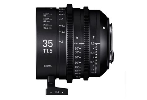 Sigma 24mm T1 5 Ff High Speed Prime Ef Mount sigma highspeed ff 35mm t1 5 pro hd rentals