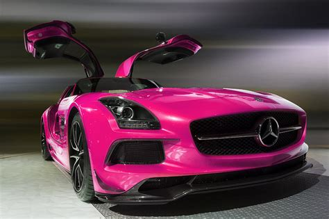 pink mercedes pink 2014 mercedes sls amg photograph by jerome obille