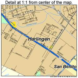 where is harlingen on the map harlingen map 4832372