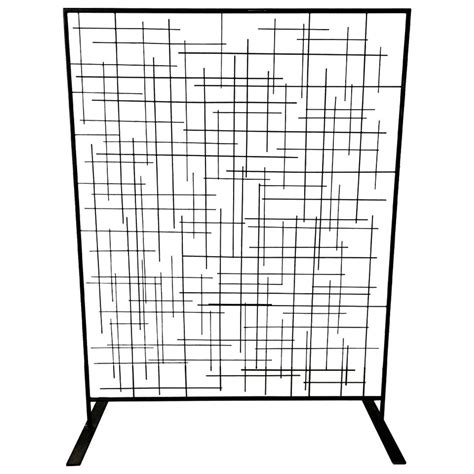 freestanding room divider custom metal matchstick freestanding room divider screen