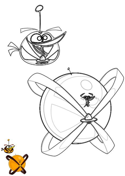 angry birds space coloring pages orange bird free coloring pages of angry birds orange bird