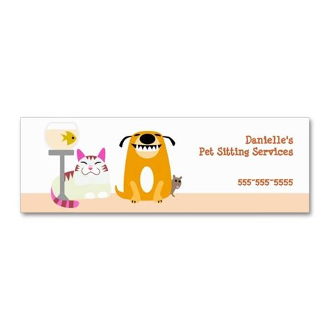 pet grooming business cards templates 2185 best images about animal pet care business card