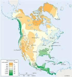 america precipitation map america average annual precipitation